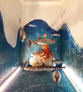 acquario artigianale decorativo